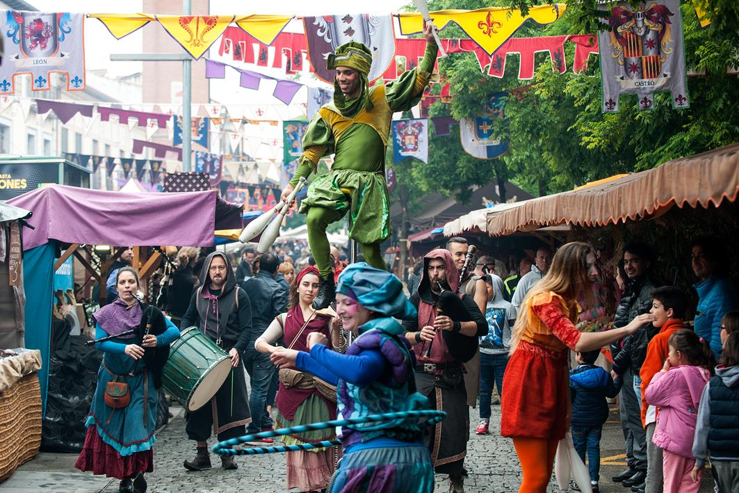 Gran Feria Mercado Medieval de El Álamo, Madrid
