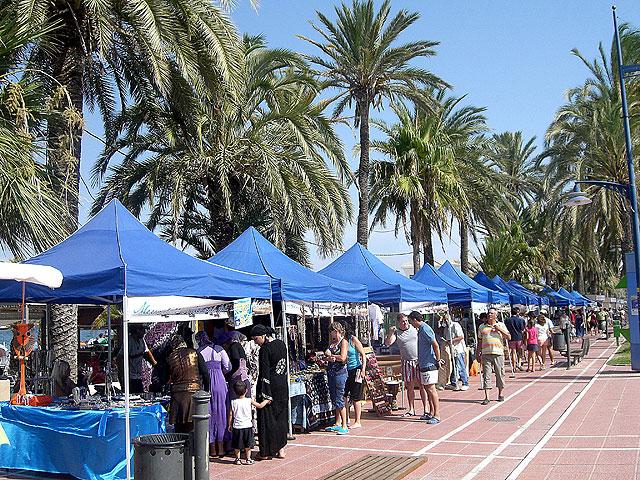 Mercado Artesano del Mar Menor, San Javier, Murcia