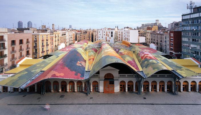 Mercat Santa Caterina en Barcelona