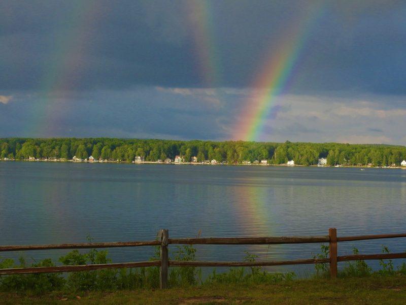Tipos de arco iris - Arco iris por reflexión