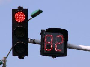 El semáforo con temporizador