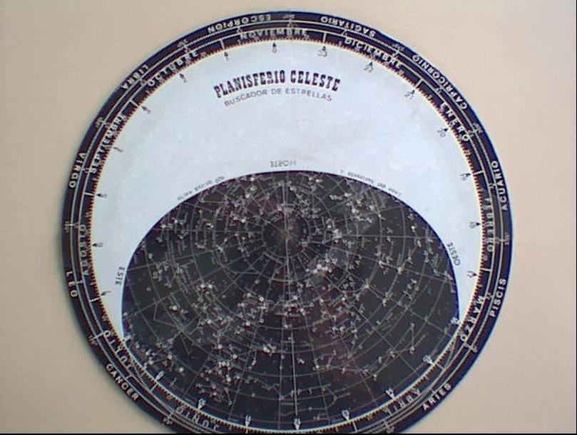 cómo se usa un planisferio celeste