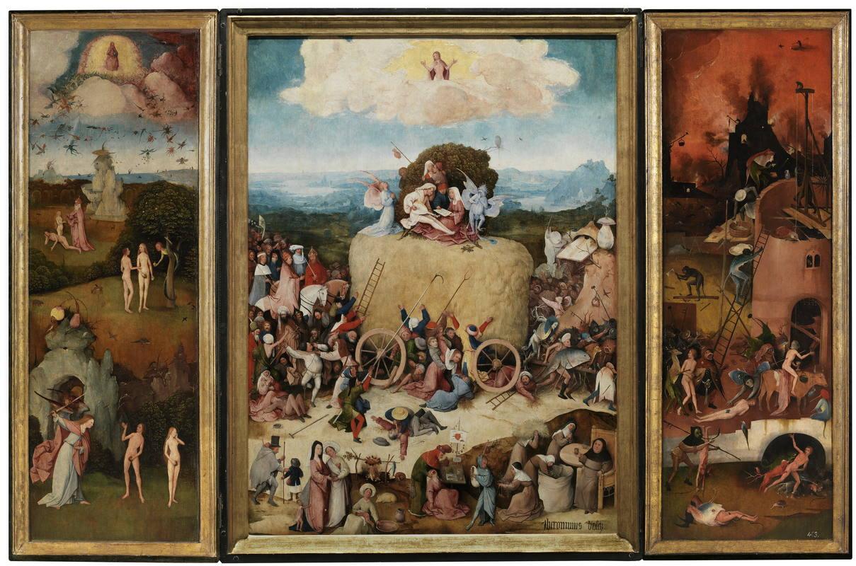 Tríptico del carro de heno – Hieronymus Bosch