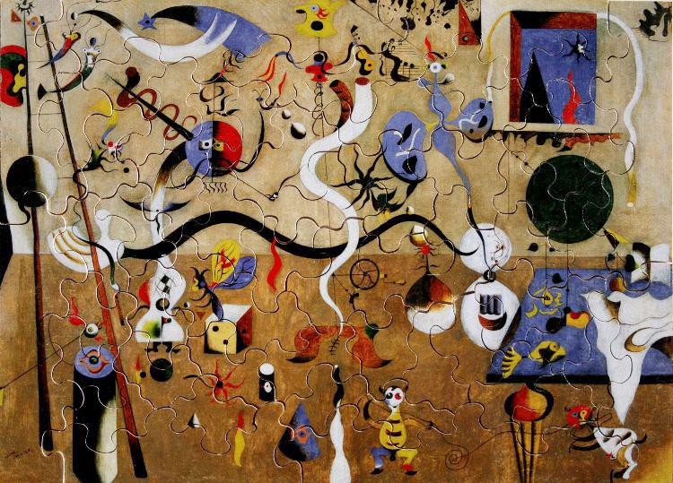 Carnaval de Arlequines - Joan Miró